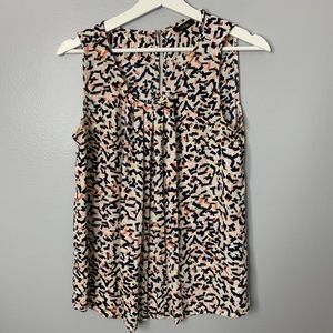 Apt. 9 Multi Color Sleeveless Blouse